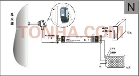 两线制温度(热电阻)变送器模块